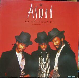 ASWAD RENAISSANCE LP 20 Crucial Tracks Stylus Music 1988 Excellent
