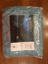 Pale Green Chenille Standard Size Northern Nights Pillow Sham New In Package