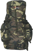 Large Camoflauge Backpack Camping 3200 Cu In NEW  Camo