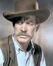 "WARD BOND WAGON TRAIN MOVIE STAR HOLLYWOOD ACTOR 8x10"" HAND COLOR TINTED PHOTO"