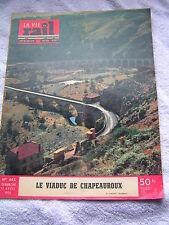 vie du rail 1954 442 Viaduc Chapeauroux Roma-Velletri Saint-Bonnet Montauroux