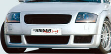 AUDI TT 8N 1998-2006 Genuine Rieger Brand Front Spoiler RS4 Style NEW