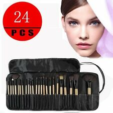 Professional Makeup Brush Kit Set of 24 Cosmetic Make Up Beauty Brushes New BA#