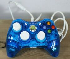 XBOX 360 Controller BLUE Rock Candy Wired Tight Joy Sticks Model PL-3760 Nice G4