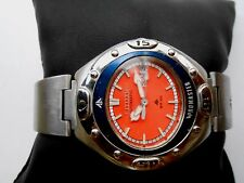 VERY RARE COLLECTIBLE CITIZEN PROMASTER ORANGE DIAL MENS AUTOMATIC WRISTWATCH