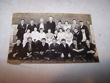 Antique SHELBURN Indiana PUBLIC SCHOOL Real Photo Postcard RPPC Unknown Date #3