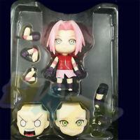 Nendoroid Naruto Shippuden Sakura Haruno Action Figure Juguete Figuras en caja