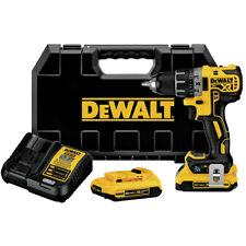 DeWalt DCD792D2R XR Comp. Drill Driver Kit w/ Tool Connect Certified Refurbished