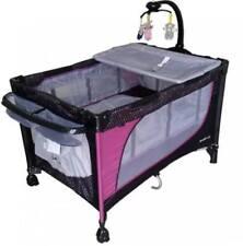 Baby 1st Playpen Baby Crib (Pink)