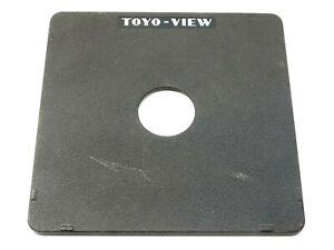 Genuine Toyo-View 4x5 Lens Board (158mm x 158mm) - For Copal #0 / Compur #0