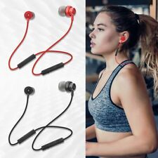 Bluetooth Wireless Magnetic Earphone Neckband Headset Stereo Music Sport Earbuds