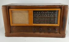 Rare Antique FIRESTONE AIR CHIEF tube radio wood vintage 4-A-39 w/ extra tubes