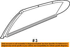 Dodge CHRYSLER OEM 01-04 Intrepid Exterior-Rear-Window Molding Right 4805530AF