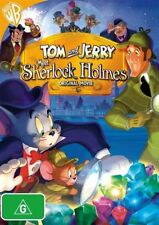 TOM AND JERRY MEET SHERLOCK HOLMES DVD=REGION 4 AUST RELEASE= NEW AND SEALED