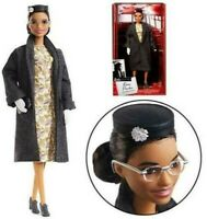 Barbie Inspiring Women ROSA PARKS 11.5in Doll NEW Mattel NEW IN STOCK