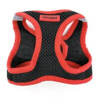 Voyager Size XS Dog Puppy Black Red Pet Harness