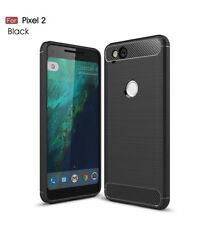 2017 Tough Carbon Fiber Shockproof Case Cover For Google Pixel 2/Pixel 2 XL