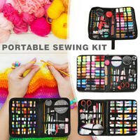 282pcs Crochet Hooks Kit Yarn Knitting Needles Sewing Tools Grip Set With Bag
