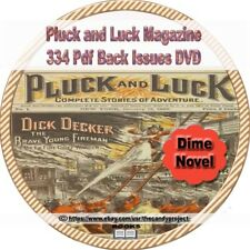 Pluck and Luck magazine 334 pdfs longest Complete Stories of Adventure DVD