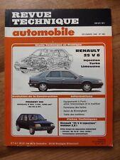 RTA Revue technique automobile #498 Renault 25 V6 injeciton - turbo - limousine