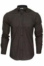 Xact Mens Long Sleeved Paisley Shirt