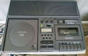 EIKI 8080 Stereo USB Recorder CD Player & Cassette Tape Recorder