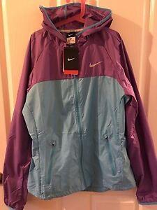Nike Women's Windrunner Full Zip Jacket Purple/Blue (Size M) Brand New