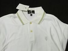 Twinhill Golf Company White Cotton Polo Golf short Sleeve Shirt  NEW Men's XL HA