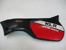 3. Kawasaki KLR 600 KL600A Verkleidung Seitendeckel Sitzbank links 36001-1287