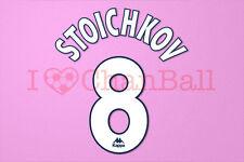 Stoichkov #8 1997-1998 Barcelona Homekit Nameset Printing