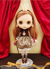 Brand New Japan Neo Blythe Doll Mademoiselle Chocolatel de Q-pot Limited version