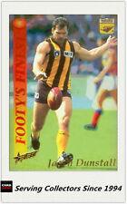 1995 Select AFL Series 2 Footy's Finest Foil Card FF4 Jason Dunstall (Hawthorn)