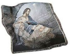 Nativity Tapestry Throw | Unopened Brand New | Free Shipping