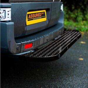 Mercedes Sprinter Rear Step 2006>2018 Hubb Systems Assured Rear Van Step Black