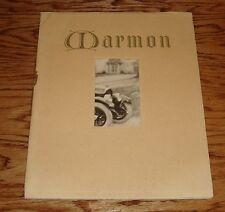 Original 1923 Marmon Car Automobile Deluxe Sales Catalog Brochure 23