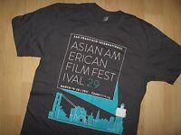 CAAMFest Tee - 2011 San Francisco Asian American Film Festival T Shirt Sm