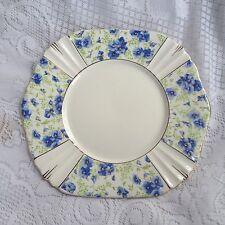 Royal Albert Blue Pansy 8 3/4 inch Plate  (990)
