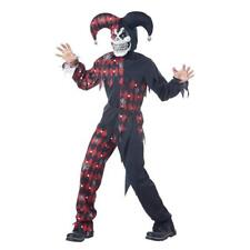 Totally Ghoul Sinister Jester Halloween Costume Age 8-14 Medium