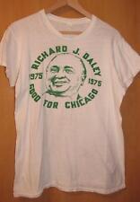 1975 Mayor Richard J. Daley Good For Chicago Tee Shirt, Size L
