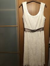 BNWT Ladies Monsoon Chrissy Ivory Lace Dress - Size 14