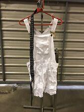 ex hire fancydress costumes - Ladies 80s Dungaree Punk Set & Belt - Small/medium