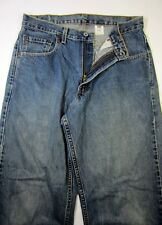 Mens LEVI'S 569 Dry Goods Red Tag 32x30 Large Straight Fit made in USA VG Cond.!
