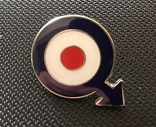 MODS TARGET ROUNDEL SCOOTER ENAMEL PIN BADGE GIFT (PB11) - BIGGER THAN OTHERS