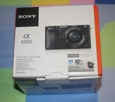 BRAND NEW Sony Alpha a6000 Mirrorless Digital Camera with 16-50mm Power Zoom Len