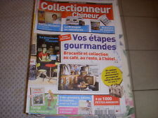 COLLECTIONNEUR CHINEUR 107 01.07.2011 CARTES MICHELIN GOBELETS TINTIN BRATZ