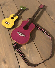 """Our Generation 2 DOLL GUITARS Accessory For Any 18"""" Dolls American girl Ukulele"""