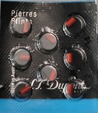 S.T. Dupont Lighter Red Flints Pack of 8 for Ligne D & Ligne 8 (650)