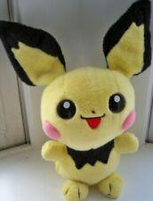"""12"""" Large Pokemon Plush: Pichu EUC Pokedoll Plushie Tomy"""