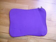"""Sleeve case bag cover for laptop 14.5""""x10"""" purple"""