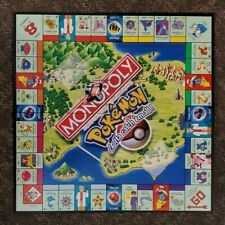 Pokemon Monopoly Game Board COLLECTOR'S EDITION Parker Brothers Hasbro 1999